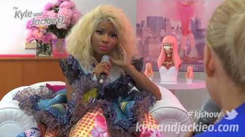 Nicki Minaj On Kyle and Jackie O