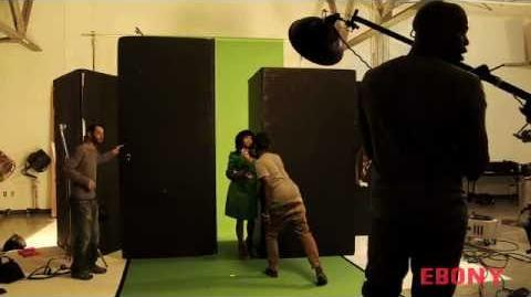 Ebony photo shoot