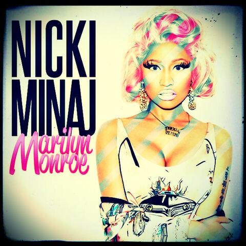 File:Nicki minaj marilyn monroe cd cover by gaganthony-d4p26st.jpg
