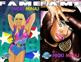 Nicki minaj comic