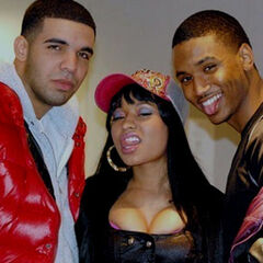 Drake,Nicki and Trey Songz