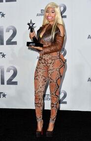 Nicki bet 2012