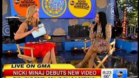 Nicki Minaj Pills and Potions VIDEO GMA Good Morning America Interview
