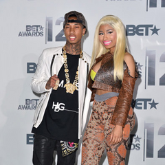 At the 2012 BET Awards.