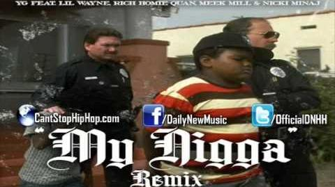 YG - My Nigga (Remix) (Feat