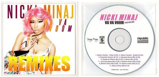 File:Nicki Minaj - Va Va Voom (Remixes) CD.jpg