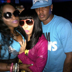 Nicki Minaj, Cam'ron, and Foxy Brown!