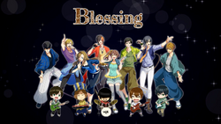 Blessing picturebook