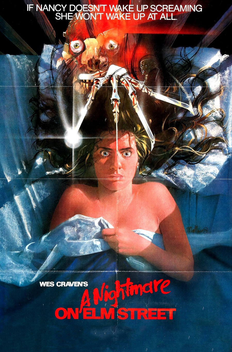 Image result for nightmare on elm street 1984 movie cover