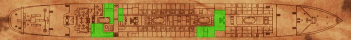 B Deck Map