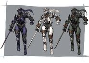 NG2 Art Char Ryu Costume 2 ShadowWalker B