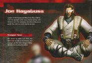 NG3 Joe Hayabusa Render With Notes