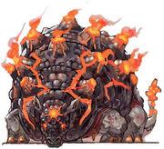 NG2 Art Boss Flaming Armadillo 1