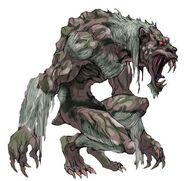 NG2 Art Enemy Beastman Lycanthrope