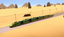 Serpentinetrain