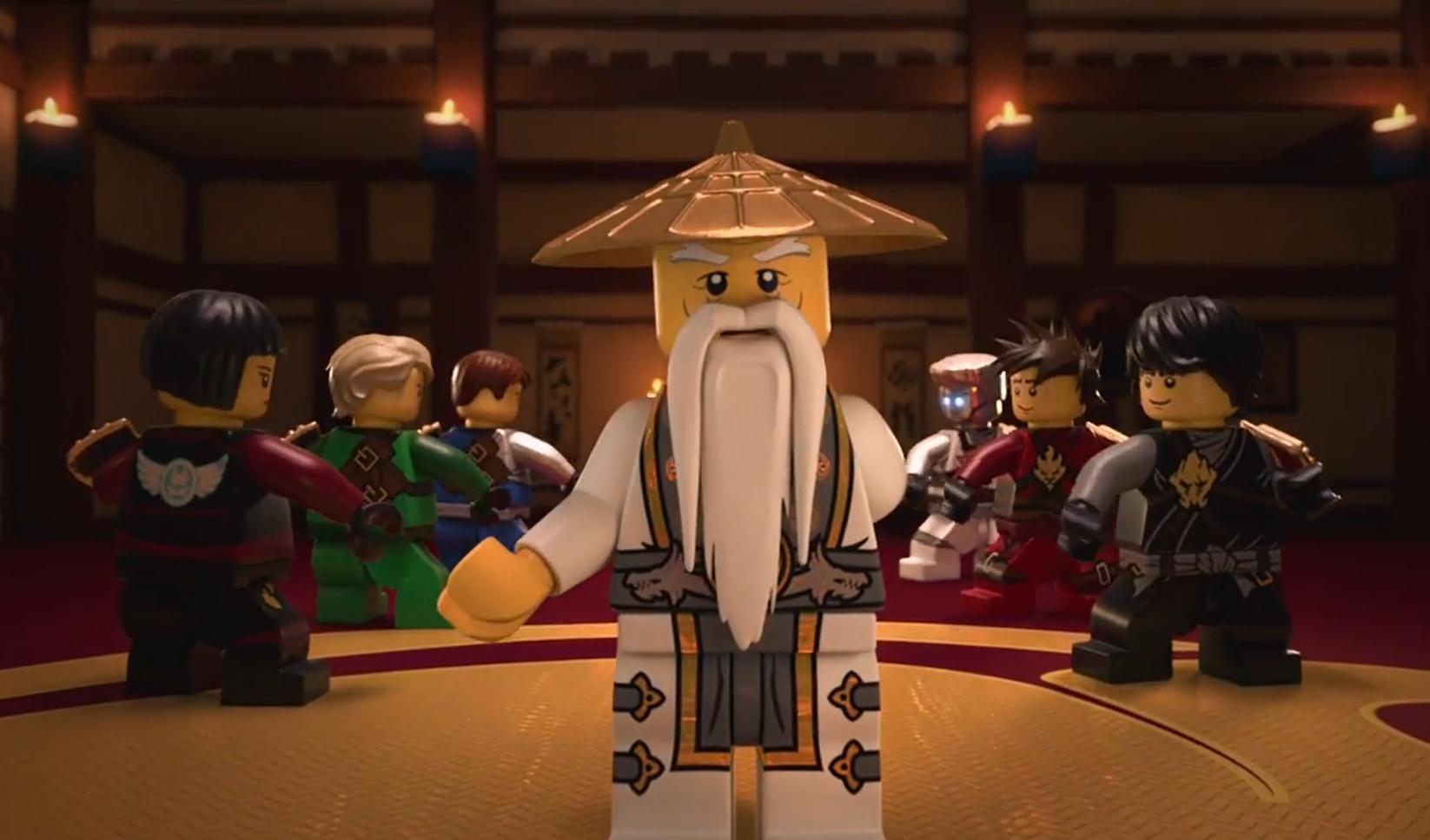 Кадры из фильма смотреть ниндзяго сезон 3