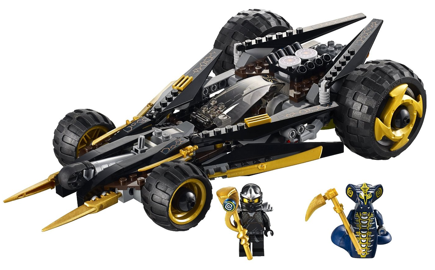 9444 cole 39 s tread assault ninjago wiki fandom powered - Voiture ninjago ...