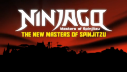 The New Masters of Spinjitzu Title Screen
