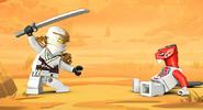 Zane vs fang sueiu lego