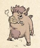 038 crashing boar