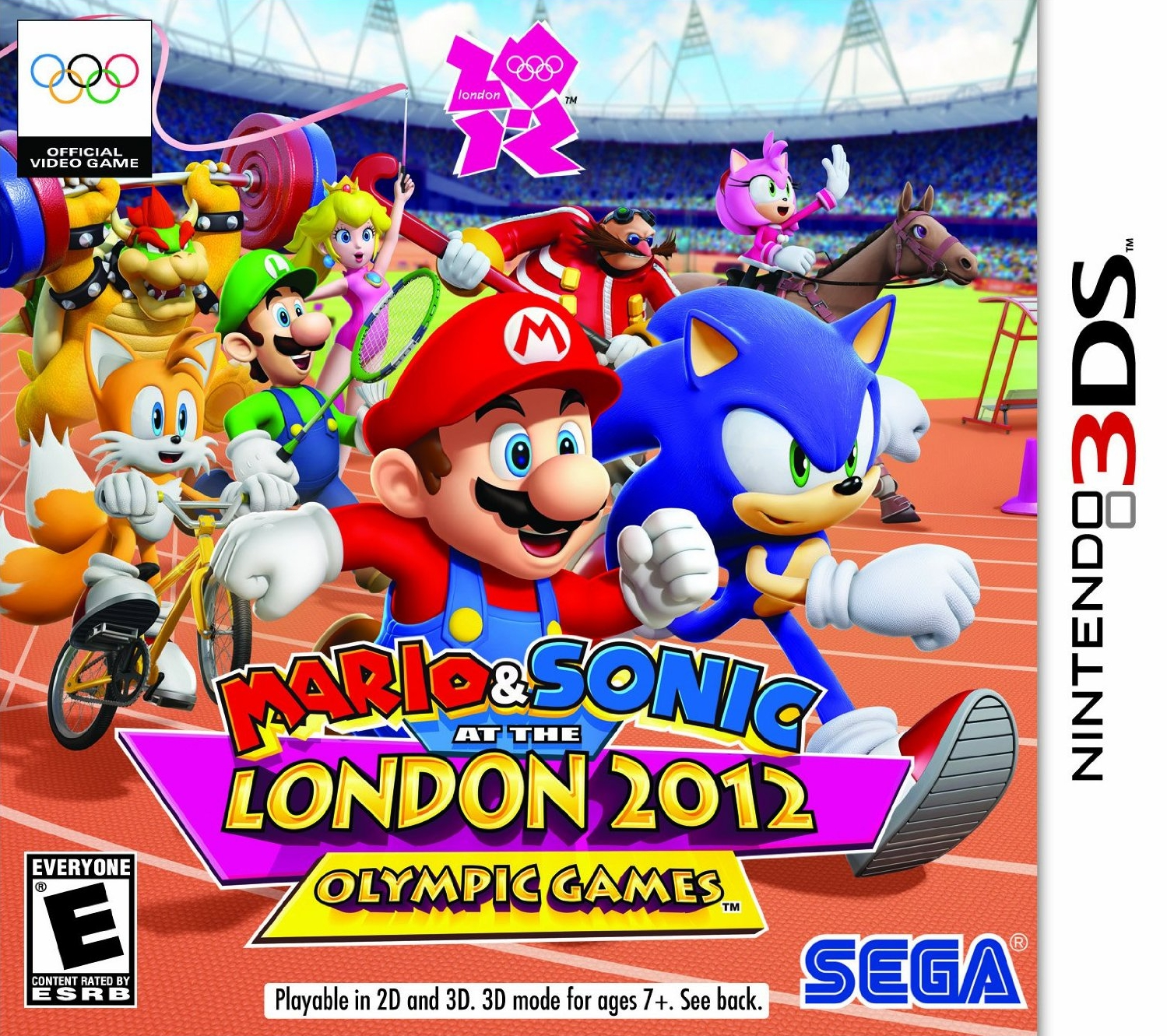 Mario and Sonic at the London 2012 Olympic Games ...