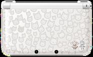 Nintendo 3DS XL Monster Hunter 4 Felyne White