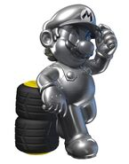 Metal Mario (Mario Kart 7)