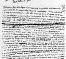 Kurt's Suicide Note