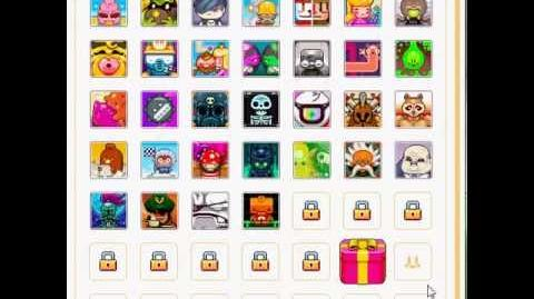 Nitrome avatars - Contact page (Puppy avatar)