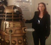 Heather Stancliffe With Droid