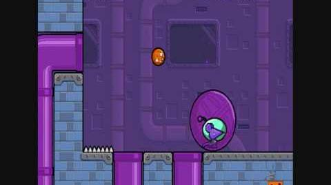 Nitrome - Cheese Dreams Level 16 bug glitch