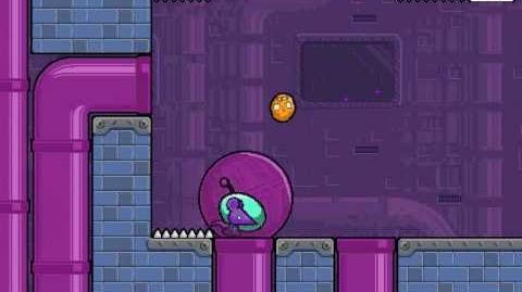 Nitrome - Cheese Dreams Level 16
