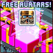Nitrome Free Avatars advertisement (Icebreaker A Viking Voyage)