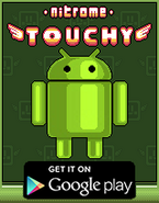 Nitrome Touchy - Android Advertisement