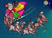 Santa Interplanetary Christmas