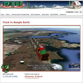 NORAD Tracks Santa - Google Earth - On Way to Delivery Point.jpg