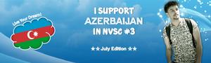 NVSC 3 Azerbaijan Banner