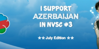 Azerbaijan in the North Vision Song Contest 3