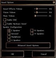 Gamemenu sound