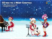 O2 Wish u a Merry Christmas