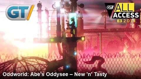 Oddworld Abe's Oddysee -- New 'n' Tasty Gameplay