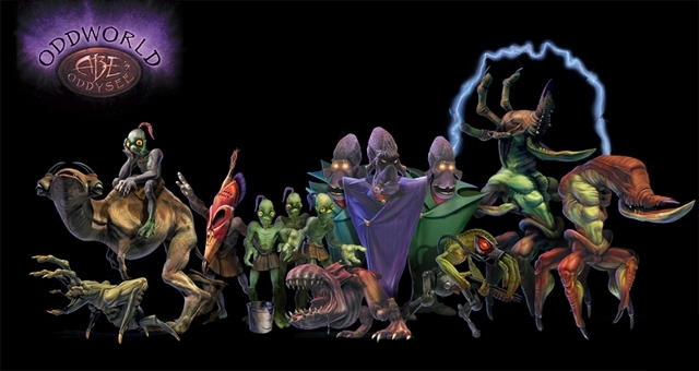 Image result for abe's oddysee creatures