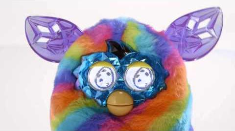 Smyths Toys - Furby Boom Crystal Series Purple to Blue Wave 4
