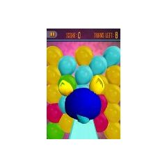 A Furbling Diving Into Balloons In The Game