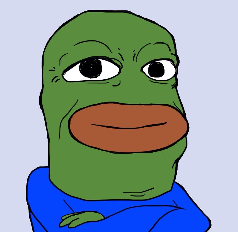 depressed frog meme