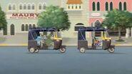 Auto Rickshaw Chase