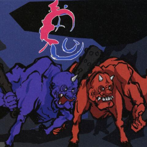 The ogres unmasked.