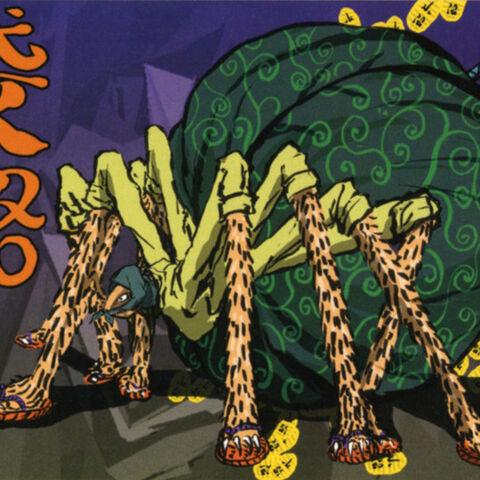 Artworks of the Bandit Spider.