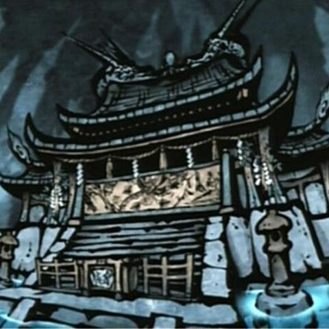 Artwork of the Shrine of Rejuvenation.