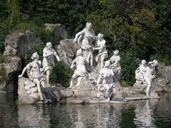 Artemis and the hunters statue